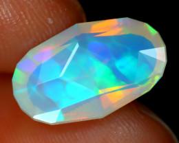 Welo Opal 2.01Ct Master Cut Natural Ethiopian Rainbow Flash Opal B3002