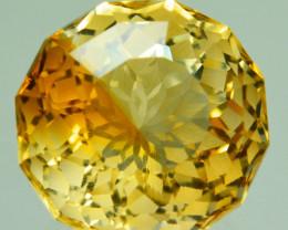 ~CUSTOM CUT~ 5.02 Cts Natural Golden Orange Citrine Fancy Brazil