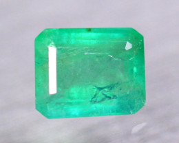 2.51ct Natural Zambia Green Emerald Octagon Cut Lot V9350