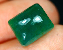 Emerald 6.15Ct Natural Zambian Green Color Emerald F2625