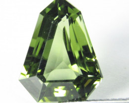 3.98Cts Extremely 100% Natural Rare Green Diopside Fancy Cut Collection G