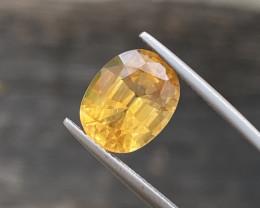 Natural Citrine 5.35 Cts Nice  Color Gemstone