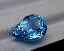 10Crt Blue Topaz Natural Gemstones JI57