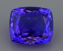 Royal Blue  4.10 ct AAA Grade Tanzanite SKU-38