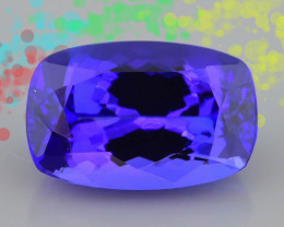 AAA Grade Tanzanite 4.2 ct Attractive Blue Hue SKU-39