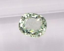 1.76ct Natural unheated Greenish yellow  sapphire