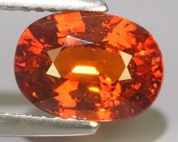 2.69 Cts Unheated Natural Orange Spessartite Garnet Namibia Gem