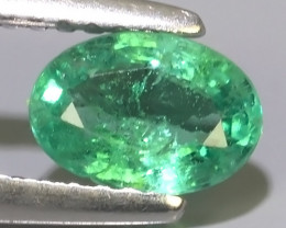 0.65 CTS IMPRESSIVE OVAL BEST COLLECTION OF NATURAL COLOMBIAN EMERALD