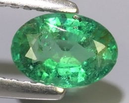 0.55 CTS IMPRESSIVE OVAL BEST COLLECTION OF NATURAL COLOMBIAN EMERALD