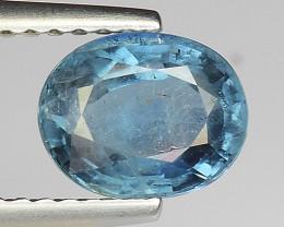 1.59Ct Untreated  Blue Sapphire Good Quality  Gemstone. BS 06