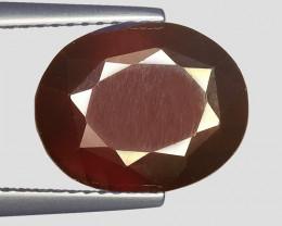 5.95Ct Natural Rare Hessonite Garnet Top Quality Gemstone. HG 48