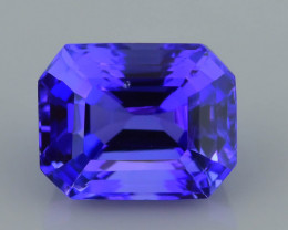 AAA Grade Tanzanite 2.45 ct Attractive Blue Hue SKU-39