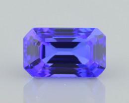 AAA Grade Tanzanite 1.70 ct Attractive Blue Hue SKU-39