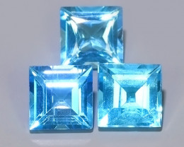 6.15 CTS AWESOME NICE QULITY SWISS BLUE NATURAL TOPAZ~