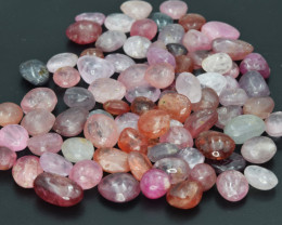 219  Cts Natural Spinels Multicolr Polished Tumbled Lot