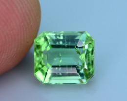 Mint Green 2.20 ct Tourmaline Ring Size