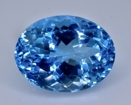 19.13 Crt Topaz Faceted Gemstone (Rk-22)