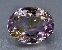 15.41 Crt Ametrine Faceted Gemstone (Rk-22)