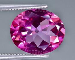 5.37 Crt Pink Topaz Faceted Gemstone (Rk-22)