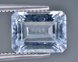 1.98 Crt Aquamarine Faceted Gemstone (Rk-22)