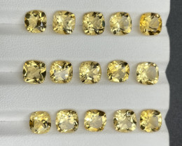 21 CT Citrine Gemstones parcel