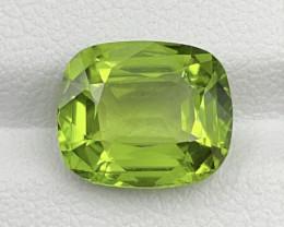 4.61 CT Peridot Gemstones Top German cutting top luster origin Pakistan