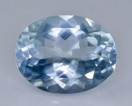 2.30 Crt Natural Aquamarine Faceted Gemstone.( AB 31)