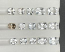 37.65 CT Topaz Gemstones parcel
