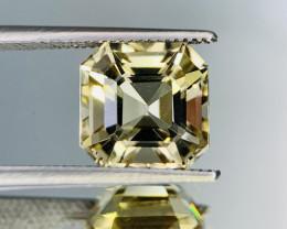3.90 Cts Top Class Asscher cut Natural Scapolite gemstone