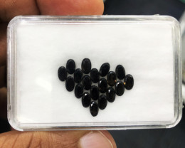 4.17 Cts Smokey Quartz 5x3mm 19 Pc 100% Natural Unheated Mine Brazil