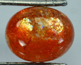 2.92 Cts Natural Beautiful Sunstone Andesine Cabochon Congo