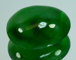~UNTREATED~ 1.58 Cts Natural Burmese Jade Oval Cabochon