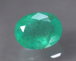 2.80ct Natural Zambia Green Emerald Oval Cut Lot LZ8010