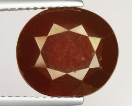 7.92Ct Natural Rare Hessonite Garnet Top Quality Gemstone. HG 75