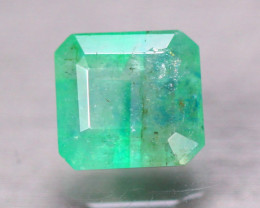 2.27ct Natural Zambia Green Emerald Square Cut Lot A93
