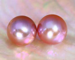 8.2mm 7.79Ct Natural Australian South Sea Purple Color Pearl F3005