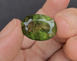 19.35 Ct Natural Beautiful Rutile Peridot Gemstone