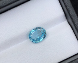 Top Grade 2.70 ct lovely Zircon Ring Size