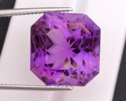 Top Quality Cutting 23.45 Ct Sparkling Color Natural Amethyst S1