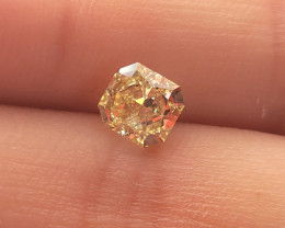 GIA VS1 1.19 Fancy Yellow Diamond