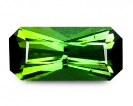Tourmaline 0.84 Cts  Vivid Green scissors cut BGC2334 | From Brazil