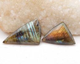 D1818 - 76cts Natural Labradorite Cabochon,Handmade Gemstone,Lucky Stone