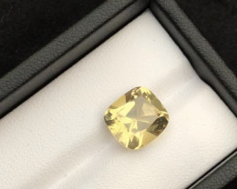 Top Grade 5.40 ct Light Color Citrine Ring Size