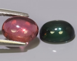 3.00 CTS-ADAROBLE RARE NATURAL TOP-FANCY-COLOR~TOURMALINE CAB