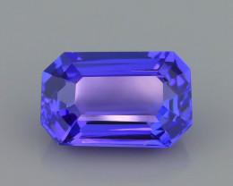 AAA Grade Tanzanite 2.50 ct Attractive Blue Hue SKU-39