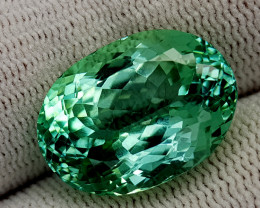 17.35CT GREEN SPODUMENE BEST QUALITY GEMSTONE IIGC65