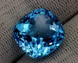 12.45CT BLUE TOPAZ BEST QUALITY GEMSTONE IIGC65