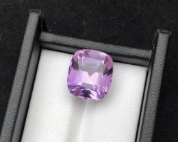 Top Grade Spider Cut 11.00 cts of Natural Amethyst Ring Size