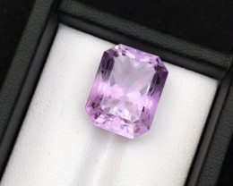Top Grade Spider Cut 13.20 cts of Natural Amethyst Ring Size