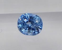 0.97ct Natural unheated blue sapphire